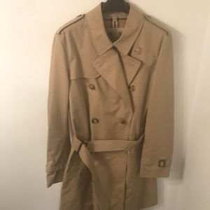 BURBERRY NWOT Men's Mid-length Honey Trench Coat